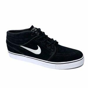 NWOT Nike SB Zoom Stefan Janoski Mid - Black Suede